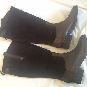 Sam Edelman leather and suede boots