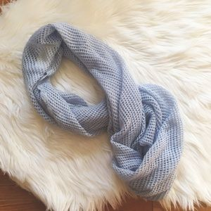 H&M Accessories - Powder Blue Knit Infinity Scarf