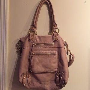 Linea Pelle Handbags - Genuine tan leather LINEA PELLE bag!