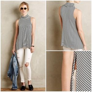 NWOT Anthropologie Turtleneck Swing Tank by Puella