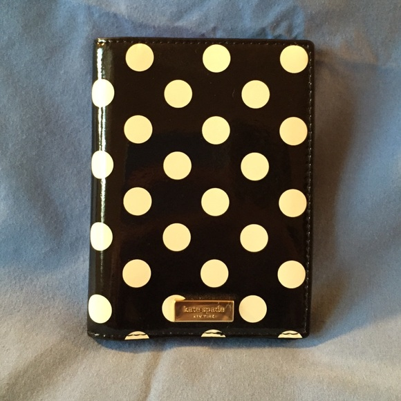 46cdd602d8e2 Kate Spade Accessories - Kate Spade polka dot passport holder