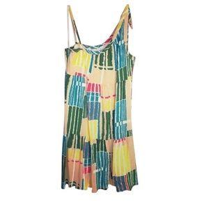 Anthropologie Tulle One Shoulder Dress