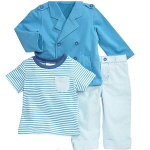 First Impressions Other - 🎉HP🎉Boys three piece jacket, tee and pants