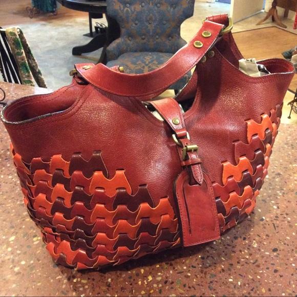 e90b94a226 Mulberry Jemma in Rio Red Leather Handbag. M 5a2c79944127d0039b02f399