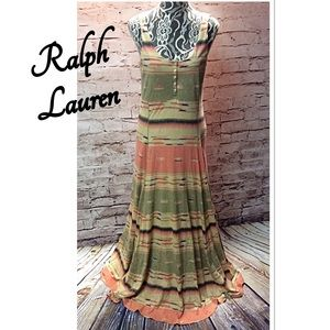 Lauren Ralph Lauren Dresses & Skirts - RALPH LAUREN COTTON KNIT MAXI DRESS