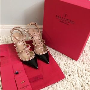 Valentino Shoes - Valentino Rockstud Patent Heels, BRAND NEW IN BOX