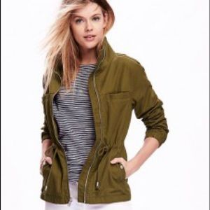 Old Navy Canvas Utility Field Jacket