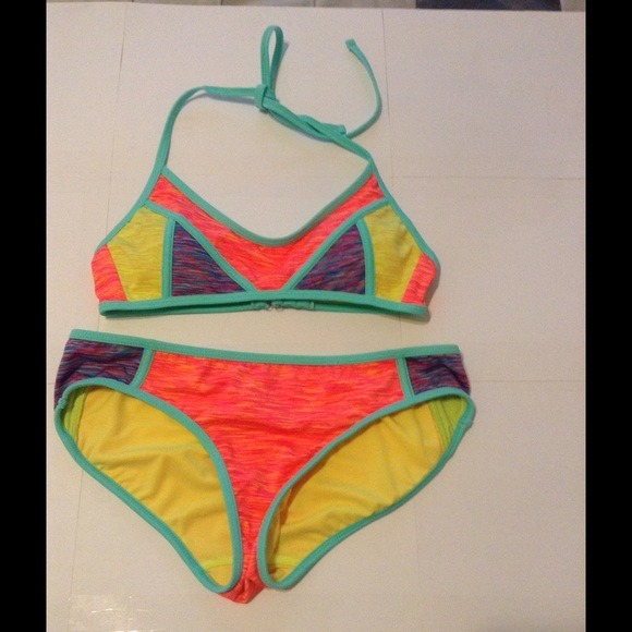 a7869650f6769 Swim | Brand New Gorgeous Summer Colorful 2 Piece | Poshmark