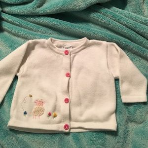 Florence Eiseman Other - Florence Eiseman white button up sweater