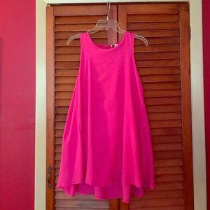 Hot pink Sabo Skirt dress