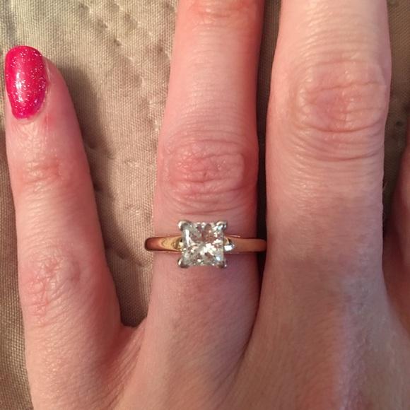 b2c54166c Kay Jewelers Jewelry - Engagement ring Leo diamond 1.03 CT princess cut