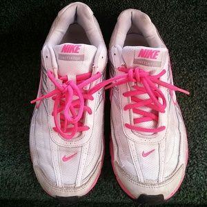 6cc8364693de Nike initiator Shoes - Women s Nike initiator white pink sneakers sz 9.5