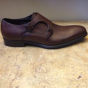 To Boot Other - To BootNew York Brown Leather Monkstrap Men Shoes