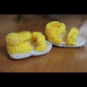 Other - Handmade baby shoes- baby sandals