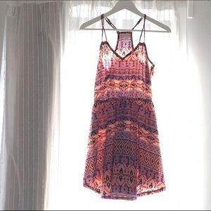 Audrey Dresses & Skirts - Pink tribal print design summer dress