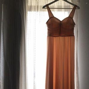 H&M Dresses & Skirts - Royal pink blush long maxi dress S