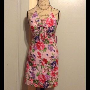 MILLY B. Pink Roses Garden Sundress