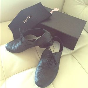 Repetto Shoes - Black Repetto ZIzi Oxford (sz 37)