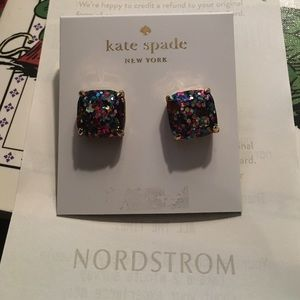 Kate Spade Jewelry - Kate Spade glitter earrings
