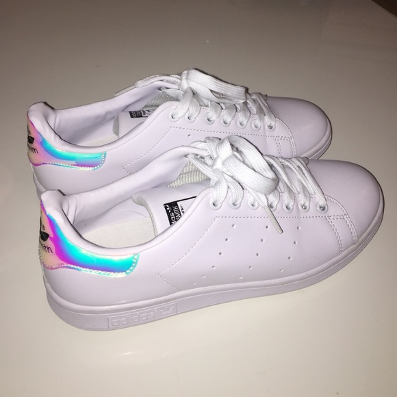 best sneakers 67930 53a9e adidas stan smith iridescent women