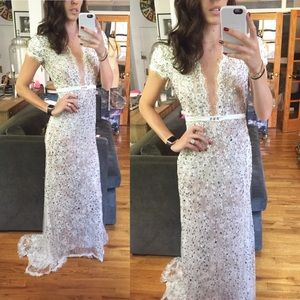 Dresses & Skirts - Custom Embellished Lace Gown/wedding Dress