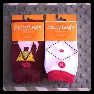Baby Leg Other - 2 NEW pairs of BabyLegs LegWarmers