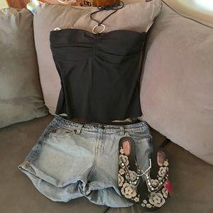 lei Pants - Juniors 17 Jean shorts