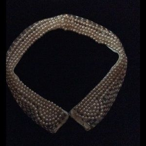 Beautiful pearl and bead vintage collar
