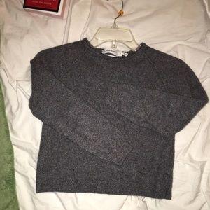 Calvin Klein extra fine merino crop sweater