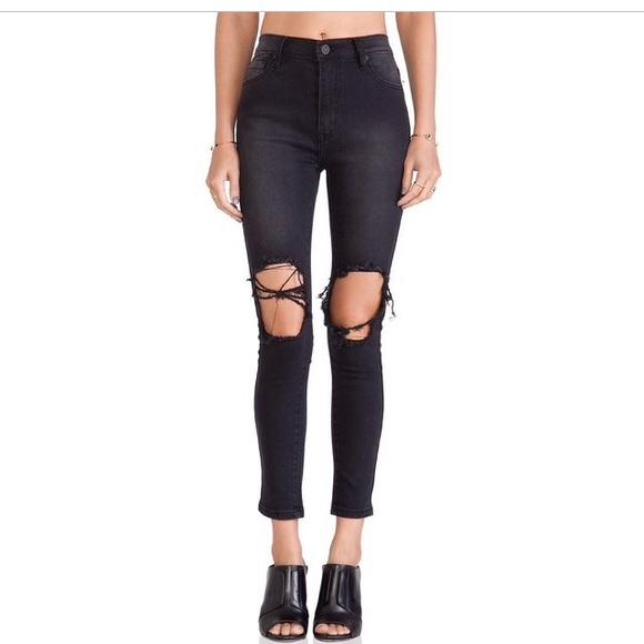 35% off UNIF Denim - UNIF black peach pit jeans NWOT from Lexiu0026#39;s closet on Poshmark