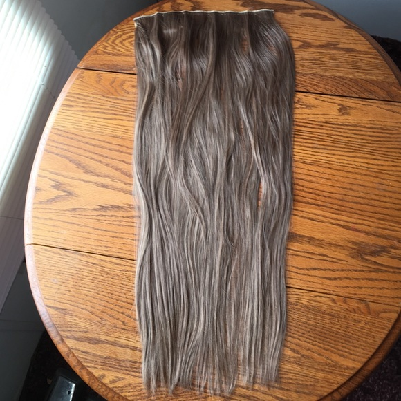 Accessories 26l Light Ash Brown Golden Mix Hair Extensions Poshmark