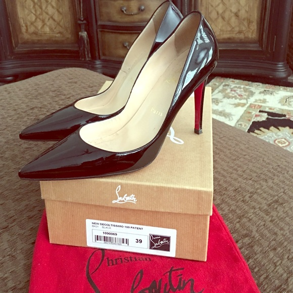 bf44f58b1c Christian Louboutin Shoes - CHRISTIAN LOUBOUTIN New Decoltissimo 100 Patent