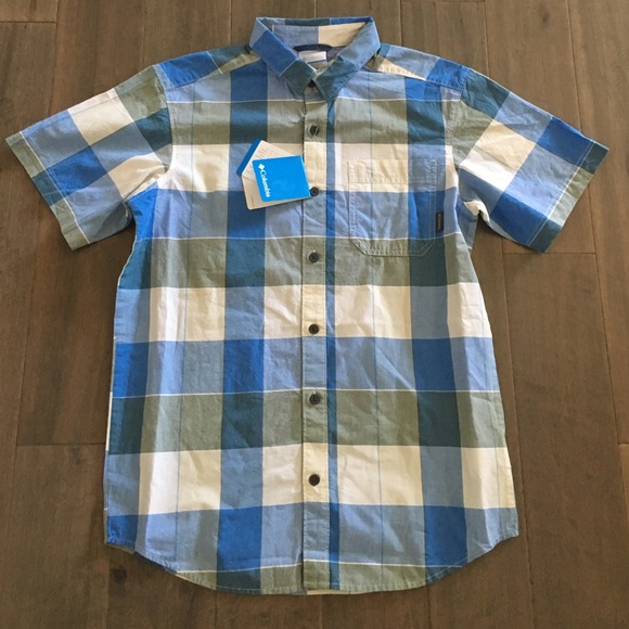 44 Off Columbia Other Columbia Short Sleeve Button Down
