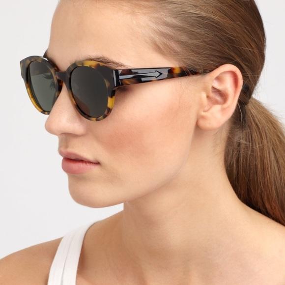 8eee96e67a5e Karen Walker Accessories - Karen Walker Anywhere Round Tortoise Sunglasses