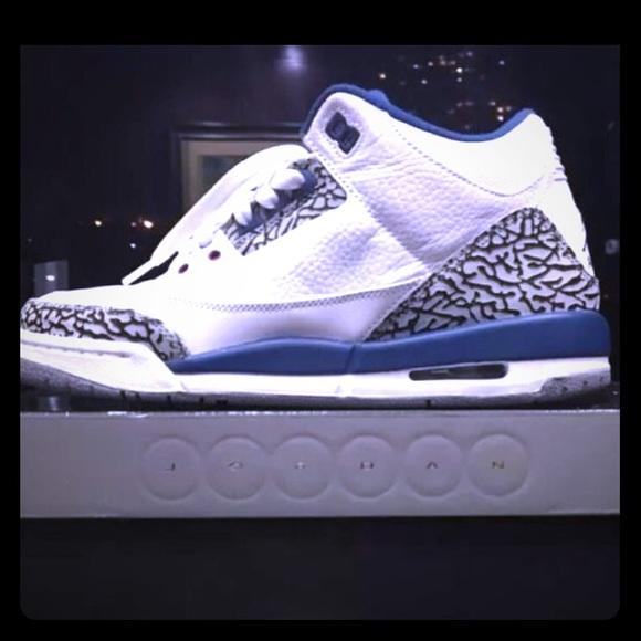 Nike Air Jordan 3 retro true blue 2011 release 92cdf12b66