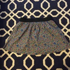 Old Navy Floral Skirt