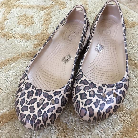 3b5cb5dc6ace CROCS Shoes - Crocs Kadee flat in leopard cheetah