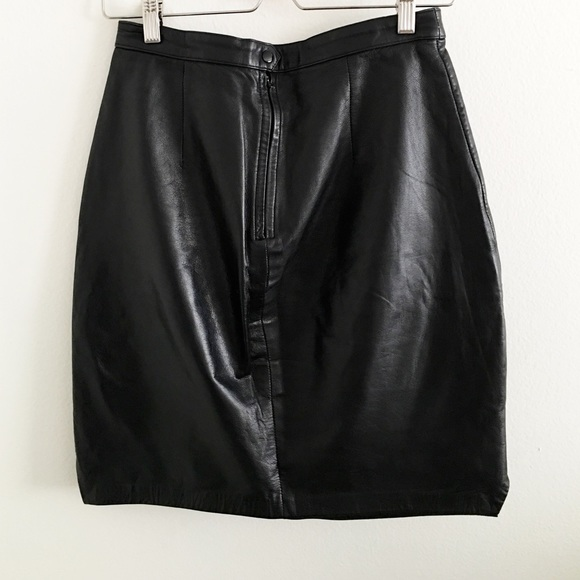 76 vintage dresses skirts genuine leather skirt