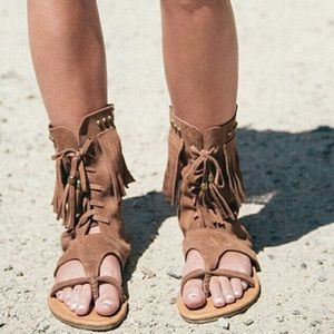 Spell & The Gypsy Collective Shoes - For @ko13 Short Warrior Sandals