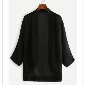 SALEDropped shoulder kimono...NWOT