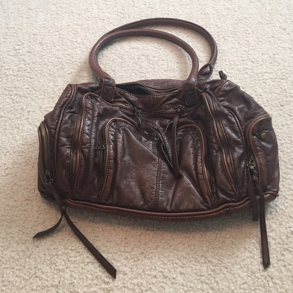 f73fe2645fc7 Converse Handbags - Distressed brown leather shoulder bag