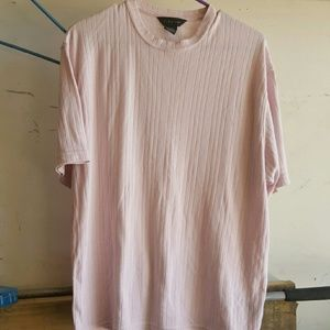 Used, J Ferrar pink men's T-shirt, L. for sale
