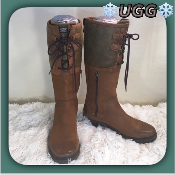 UGG Elsa Waterproof All Weather Tall Boots