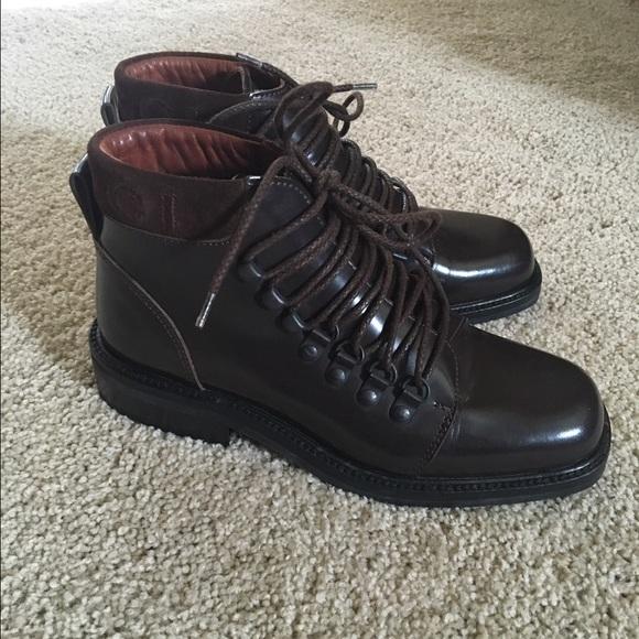 547ffe47f1c Gucci Shoes - Vintage Gucci Lace Up Boots