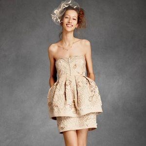 BHLDN Cream Filagree Cupcake Dress