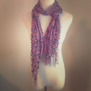 Accessories - purple Italian scarf