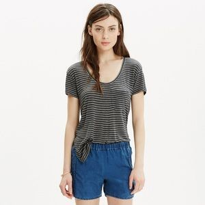 || Madewell || Anthem Short-Sleeve Scoop Tee