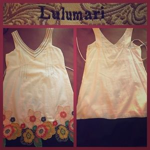 Anthropologie's Lulumari Sz Small Summer dress