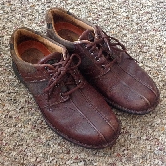 Shoes Poshmark Leather 912 Brown Clarks Structure 80wSqdZxZ