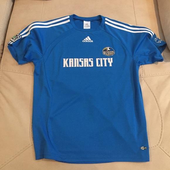 best sneakers 197dd cbf5b Kansas City Wizards Soccer Jersey